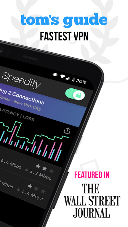 Speedify - Fast & Reliable VPN  poster 1