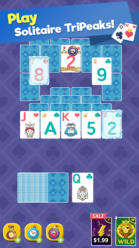 Theme Solitaire Tripeaks Tri Tower: Free card game screenshots 11