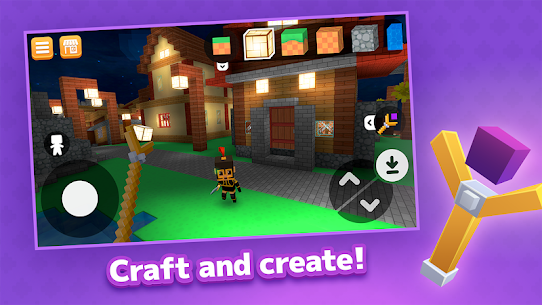 Crafty Lands – Craft, Build and Explore Worlds Mod Apk (Unlocked) 1