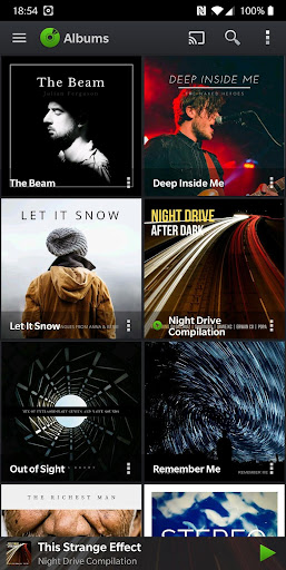 PlayerPro Music Player (Free) 5.21 Screenshots 1
