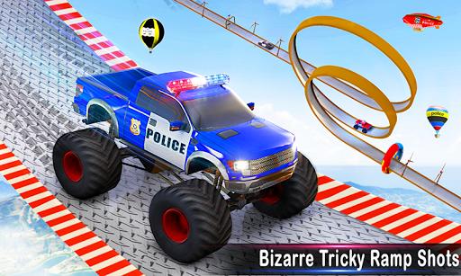 Police Car Stunts Racing: Ramp Car New Stunts Game 2.1.0 Screenshots 5