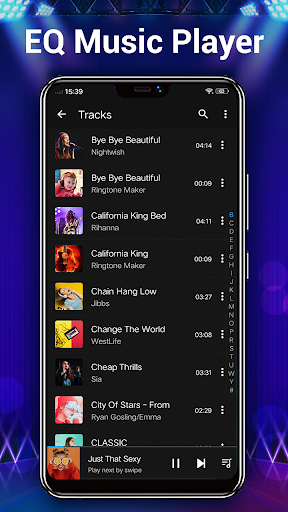 Music Player - Audio Player & 10 Bands Equalizer android2mod screenshots 2