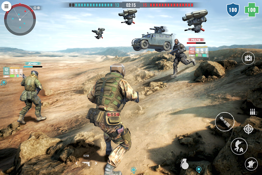 Country War : Battleground Survival Shooting Games 1.7 screenshots 11
