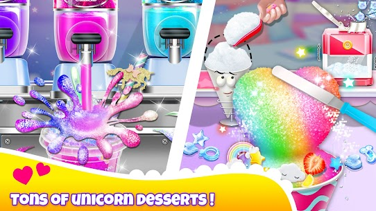 Girl Games: Unicorn Cooking Games for Girls Kids 3