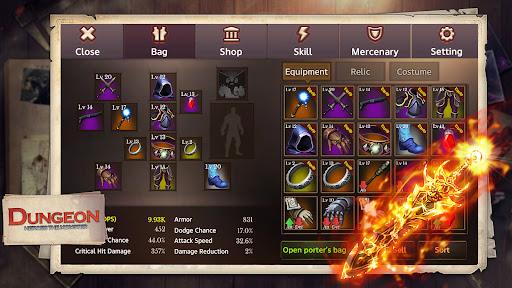 Dungeon Heroes The Monster MMORPG  screenshots 2