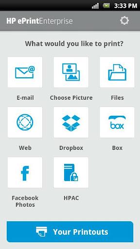 HP ePrint Enterprise (service)