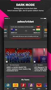 Yahoo Cricket App – Live score & Fantasy Insights 5