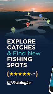 FishAngler - Fishing Maps, Forecast & Logbook App 3.2.6.129