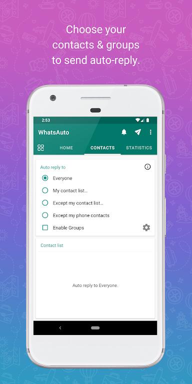 WhatsAuto - Reply App  poster 1