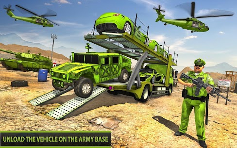 US Army Off-road Truck Driver 3 APK + MOD (Unlimited Money) 5