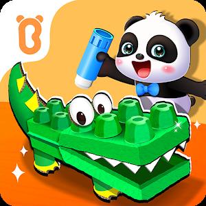 Baby Panda&#39s Animal Puzzle