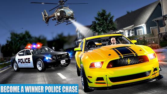 US Police Car driving Chase 3D  Screenshots 1