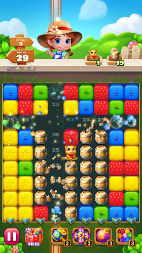 Sweet Garden Blast Puzzle Game 1.3.9 screenshots 8