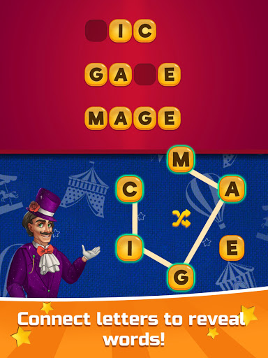 ud83cudfaaCircus Words: Free Word Spelling Puzzle  screenshots 8