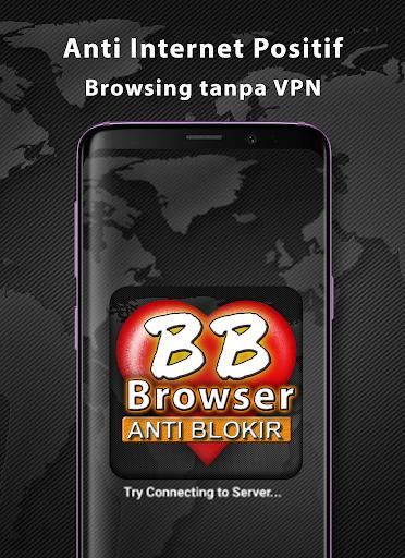 BF-Brokep Browser Anti Blokir - VPN Browser  Screenshots 2