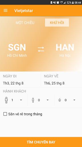 Vietjet Vietnam Airlines Screenshot 1