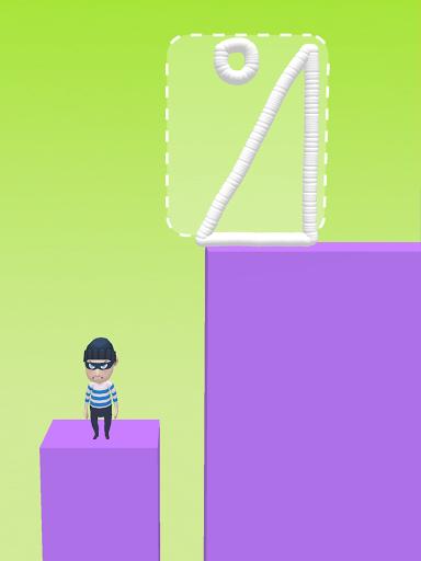 Draw & Hit: Kick the Robber! apkdebit screenshots 13