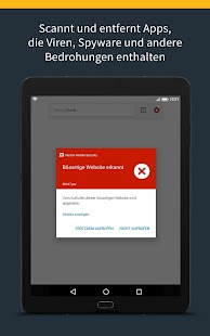 Norton Mobile Security und Antivirus Screenshot