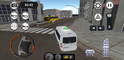 Minibus Bus Transport Driver Simulator apkpoly screenshots 9