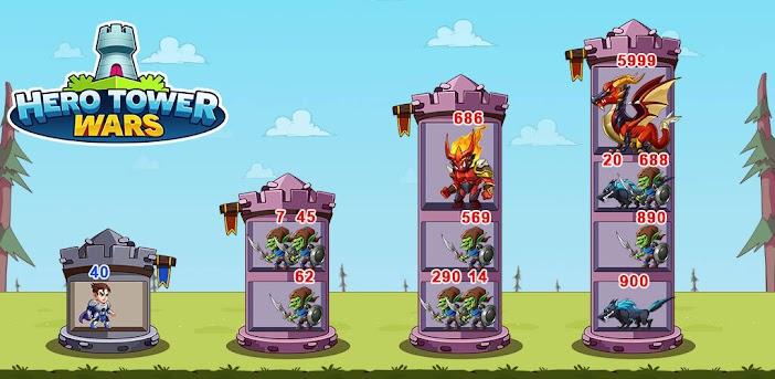 Hero Tower Wars - Merge Puzzle