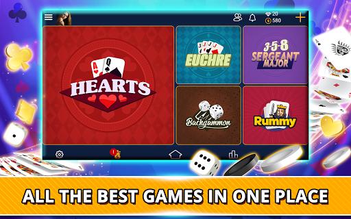 VIP Games: Hearts, Rummy, Yatzy, Dominoes, Crazy 8 3.7.5.88 screenshots 17