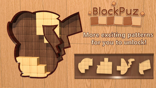 BlockPuz: Jigsaw Puzzles &Wood Block Puzzle Game  screenshots 16