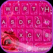 Romantic Rose Keyboard Theme