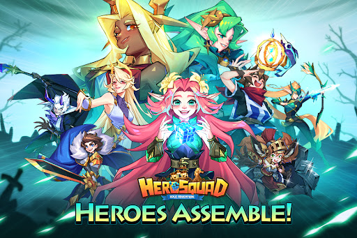 Hero Squad - Idle Adventure  screenshots 1