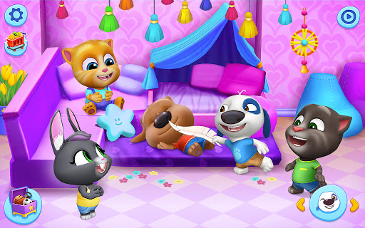 Mon Talking Tom – Amis screenshots apk mod 4
