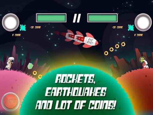 planet rider - 2 player runner screenshot 3