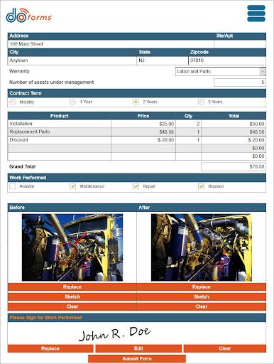 doForms Mobile Data Platform modavailable screenshots 6