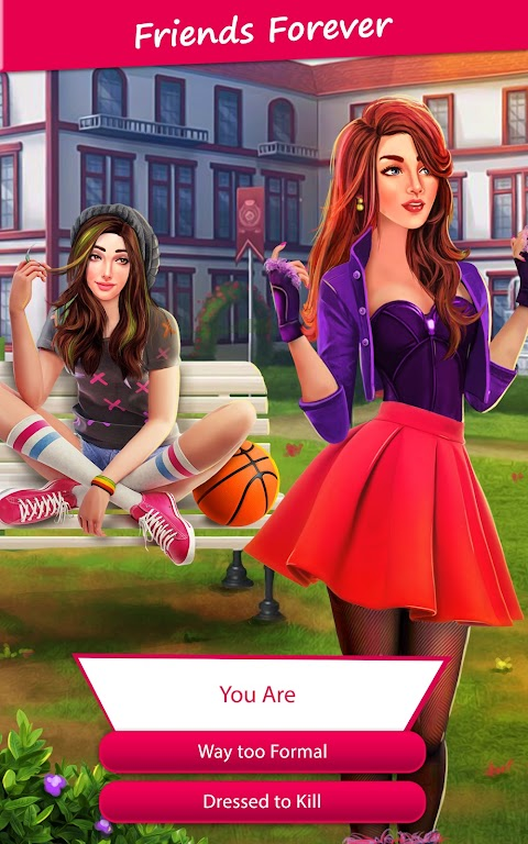 College Love Story: Interactive Game with Chapters  poster 0