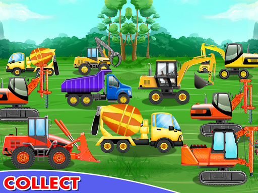 Construction Vehicles & Trucks - Games for Kids  Screenshots 12