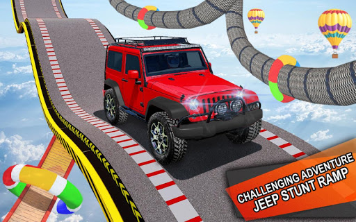 Impossible Jeep Stunt Driving: Impossible Tracks  screenshots 11
