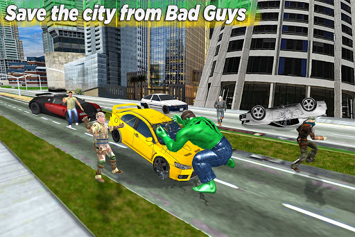 Incredible City Monster Hero Survival 3.3 screenshots 8