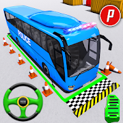 Police Bus Parking Game 3D - Police Bus Games 2019