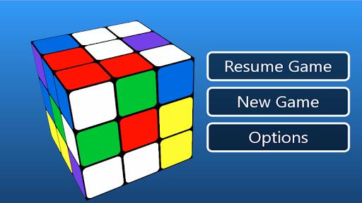 cube puzzle 3d 3x3 screenshot 2
