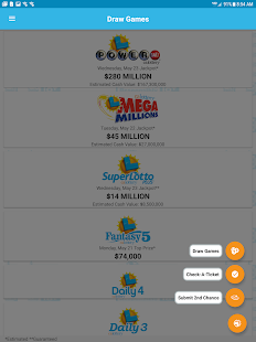 CA Lottery Official App Screenshot