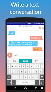 TextingStory - Chat Story Maker Screenshot