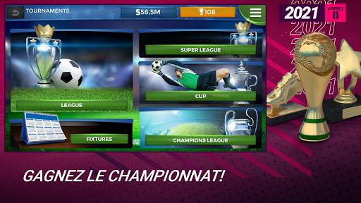 Pro 11 - Football Manager Game  APK MOD (Astuce) screenshots 5