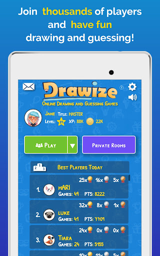 Drawize - Draw and Guess  screenshots 9