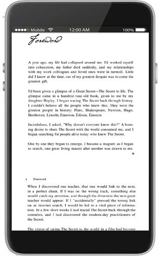 the secret by rhoneda Byren 4.0 Screenshots 3
