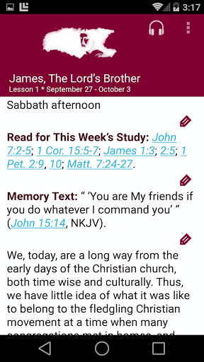 SDA Sabbath School Quarterly 5.0.231 Screenshots 1