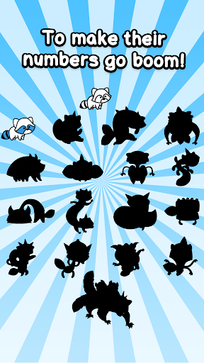 Raccoon Evolution - Make Cute Mutant Coons screenshots 4