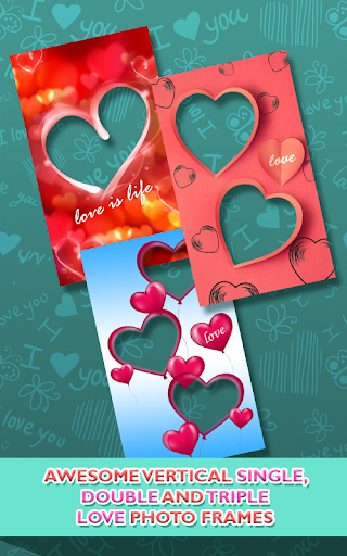 Love Photo frames Collage  screenshots 3
