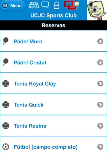 reservas ucjc sports club screenshot 3