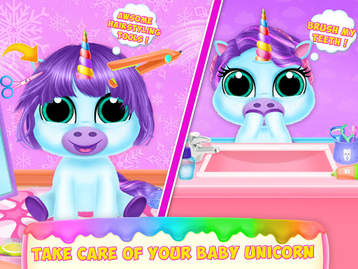 Baby Unicorn Pet Care  screenshots 5