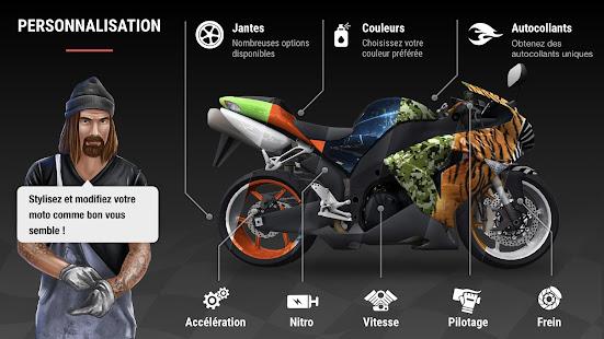 Racing Fever: Moto screenshots apk mod 4