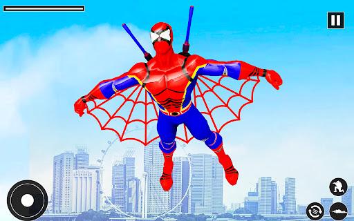 Superhero Rescue Mission :Flying Superhero Robot  screenshots 1