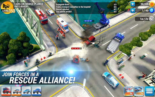 EMERGENCY HQ - free rescue strategy game 1.6.00 screenshots 13